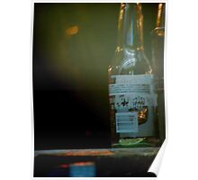 Glass Bottle Poster
