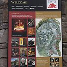 Poster on the wall at Edinburgh Castle by ashishagarwal74