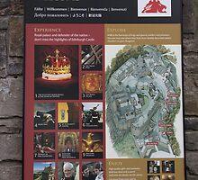Poster on the wall at Edinburgh Castle by ashishagarwal74