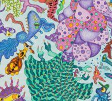 Creature carnival Sticker