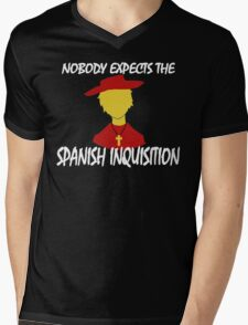 Nobody Expects the Spanish Inquisition Mens V-Neck T-Shirt