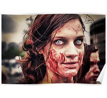 Zombie eyes. Poster