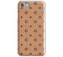 Polka Dot Leather Case iPhone Case/Skin