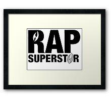 Rap SuperStar Framed Print