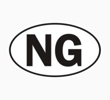 NG - Oval Identity Sign by Ovals