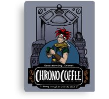 Chrono Coffee Canvas Print