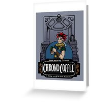 Chrono Coffee Greeting Card