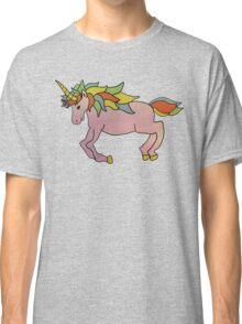 Super Happy Rainbow Unicorn Apocalypse Good MAJESTY Classic T-Shirt