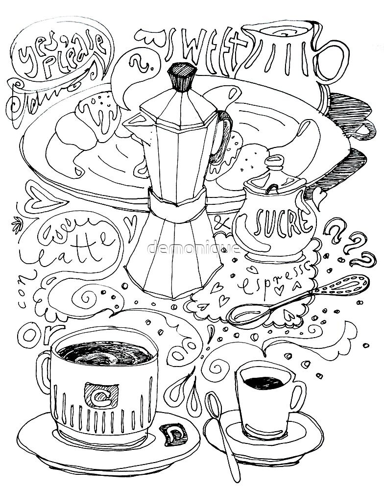 time for breakfast. sketch by demonique