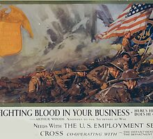 Put fighting blood in your business Heres his record! Does he get a job! Arthur Woods Assistant to the Secretary of War by wetdryvac