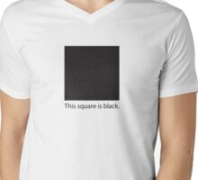 This square is black. T-Shirt