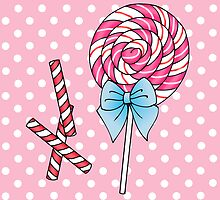 Lollipop & Peppermint Canes by jadeboylan
