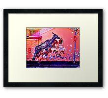 DAL East in Woodstock 03 Framed Print