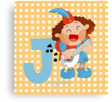 j for jongleur Canvas Print