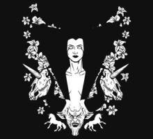 Dark Lillies by nikholmes