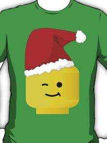 Santa Minifig by Customize My Minifig T-Shirt