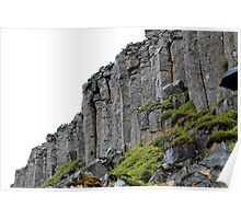gerduberg basalt columns Poster