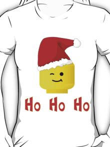 Santa Ho Ho Ho Minifig by Customize My Minifig T-Shirt