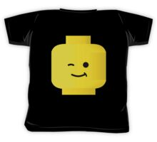 Minifig Winking Head by Customize My Minifig Kids Tee