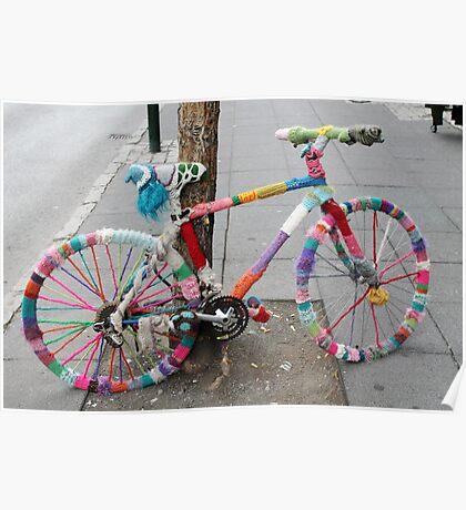 woollen bicycle Poster