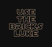 """USE THE BRICKS LUKE"" by Customize My Minifig T-Shirt"
