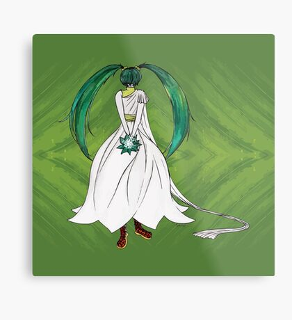 Flower Girl : Muguet (Lily of the valley) Metal Print