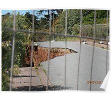 Erosion of Seaton hole Poster