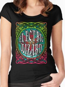 STONER DOOM ELECTRIC WIZARD Women's Fitted Scoop T-Shirt