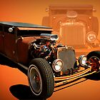 1925 Dodge Flat Top Sedan Rat Rod by TeeMack