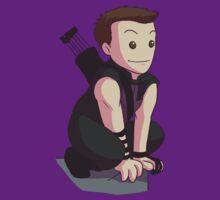 Perched Hawkeye T-Shirt