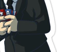 Fanboy Coulson Sticker