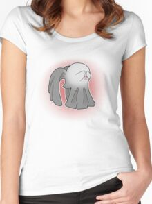 Angels say Boo! Women's Fitted Scoop T-Shirt