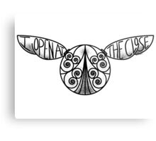 I Open At The Close - Golden Snitch Metal Print