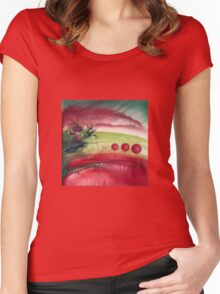 """""""Homecoming"""" from the series """"Freed Landscapes"""" Women's Fitted Scoop T-Shirt"""