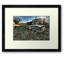 Old Ford Falcon HDR Framed Print