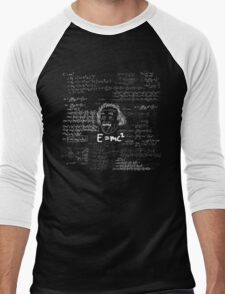 E = mc2 Men's Baseball ¾ T-Shirt