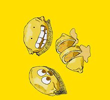 Gary the Lemon by Imran Nalla