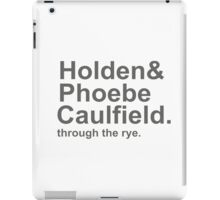Holden & Phoebe iPad Case/Skin