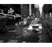 Taxi Steam Photographic Print