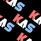 K.A.S Slanted Logo Phone Cover - Black by K. A .S