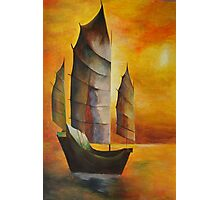 Chinese Junk Photographic Print