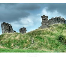 Clun Castle by Andrew Roland