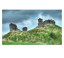 Clun Castle Photographic Print