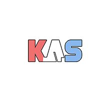K.A.S Logo Phone Cover - Clear by K. A .S