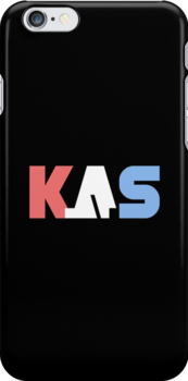 K.A.S Logo Phone Cover - Black by K. A .S