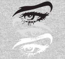 Eyes On You One Piece - Short Sleeve