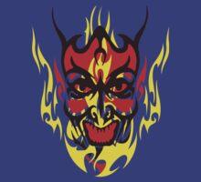 Flaming Devil by adamcampen
