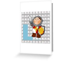 l for lancelot Greeting Card