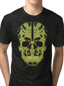 Designer Scull Tri-blend T-Shirt