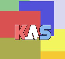 K.A.S Logo Phone Cover - Multicolor by K. A .S